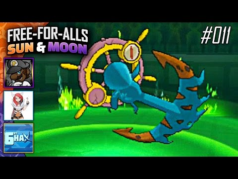 Pokémon Sun & Moon FFAs #011 Feat. PKSparkxx, CuddleofDeath & 6fthax!