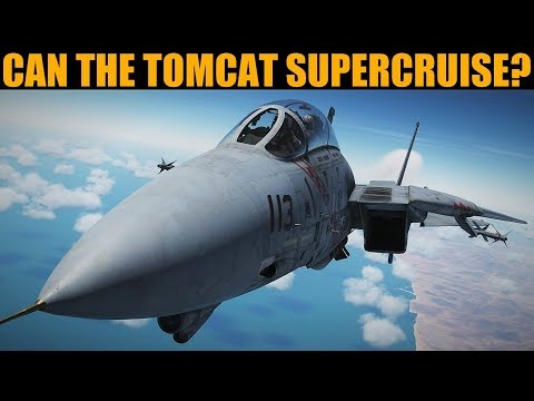 "F-14B: Can The Tomcat ""Supercruise""? | DCS WORLD |"