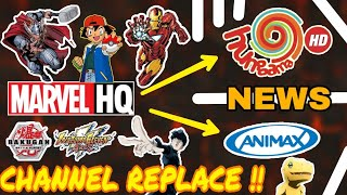 Marvel HQ Channel Replace By Disny Xd | New Anime India | Disny India Launch New Anime in Tv