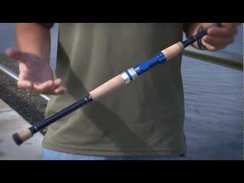 Okuma Fishing Tackle, Nomad Saltwater Travel Rods mov - YouTube
