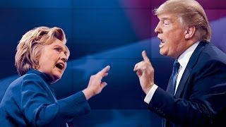 Clinton and Trump clash in first debate HD