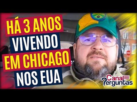 🔴[AO VIVO] Vivendo há 3 anos em Chicago, Illinois, EUA ✔