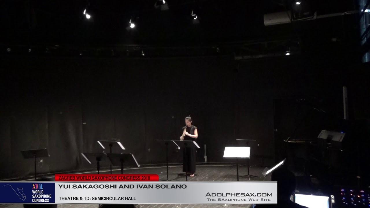 Hana by Ivan Solano   Yui Sakagoshi & Ivan Solano  XVIII World Sax Congress 2018 #adolphesax