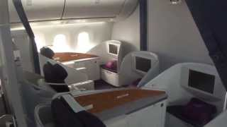 Inside China Southern Boeing 787-8 Dreamliner