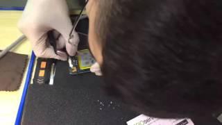 PRO service  Замена батарейки iPod 4 nano