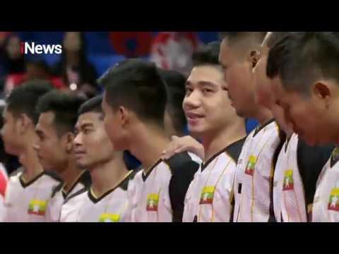 FINAL! Sepak Takraw Indonesia Vs Myanmar - Sea Games 2019
