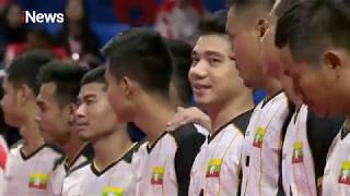 FINAL! Sepak Takraw Indonesia vs Myanmar - Sea Games 2019