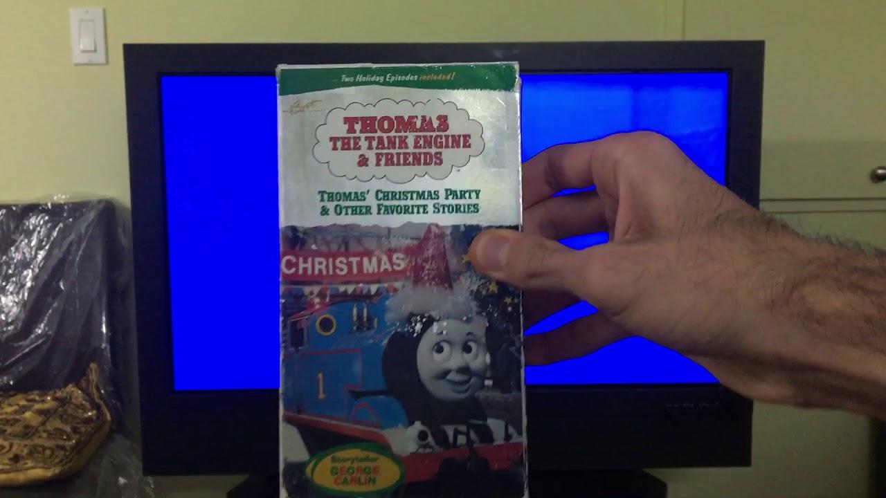 Thomas Christmas Wonderland Vhs.Opening To Thomas And Friends Thomas Christmas Party 1994 Vhs 1995 1996 Reprint