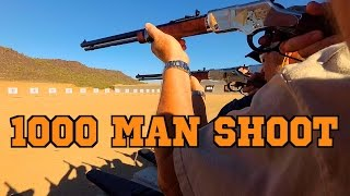 NEW WORLD RECORD! 1000 MAN SHOOT