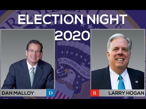 2020 Election Night | Larry Hogan vs Dan Malloy