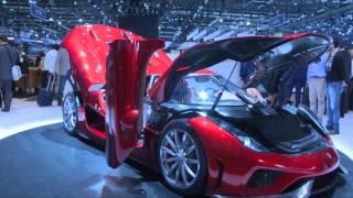 10-те най-извънземни автомобила от салона в Женева