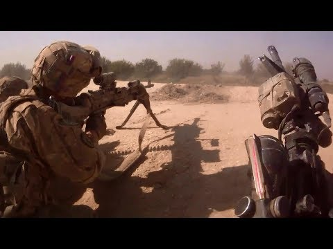 US Troops Combat Footage in Afghanistan • Clashes With Talib