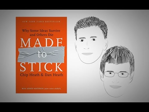 MADE TO STICK by Chip Heath and Dan Heath | Animated Core Message