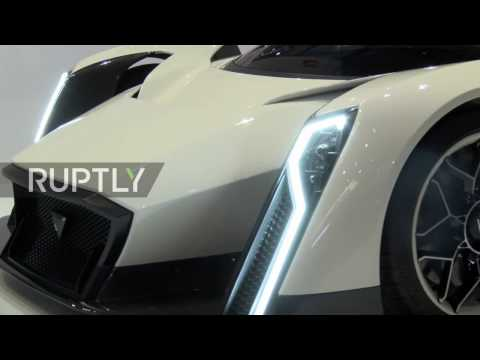 Switzerland: Singapore's first ever electric hypercar unveiled at Geneva Motor Show