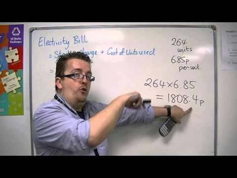 GCSE Maths from Scratch 6.11 Household Energy Bills