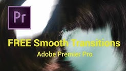 20 FREE Smooth Transitions Preset Pack for Adobe Premiere Pro | Sam