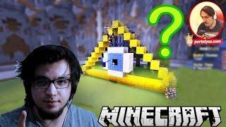 CEM İLLUMİNATİ'Mİ? | Minecraft Türkçe Master Builders | Bölüm 44