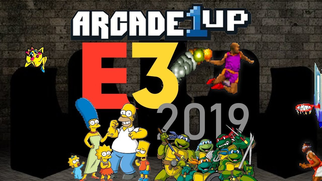 Arcade1Up - E3 Announcement Predictions - What new Cabinets are they  working on?? | Console Kits