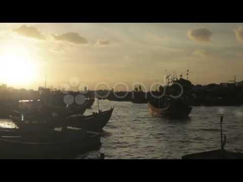 Fishing Boats footage