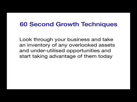 Leverage Your Overlooked Assets & Under-Utilised Opportunities