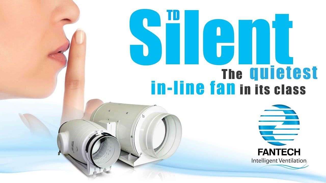 V In Line Fans : Td silent in line duct mount fan youtube