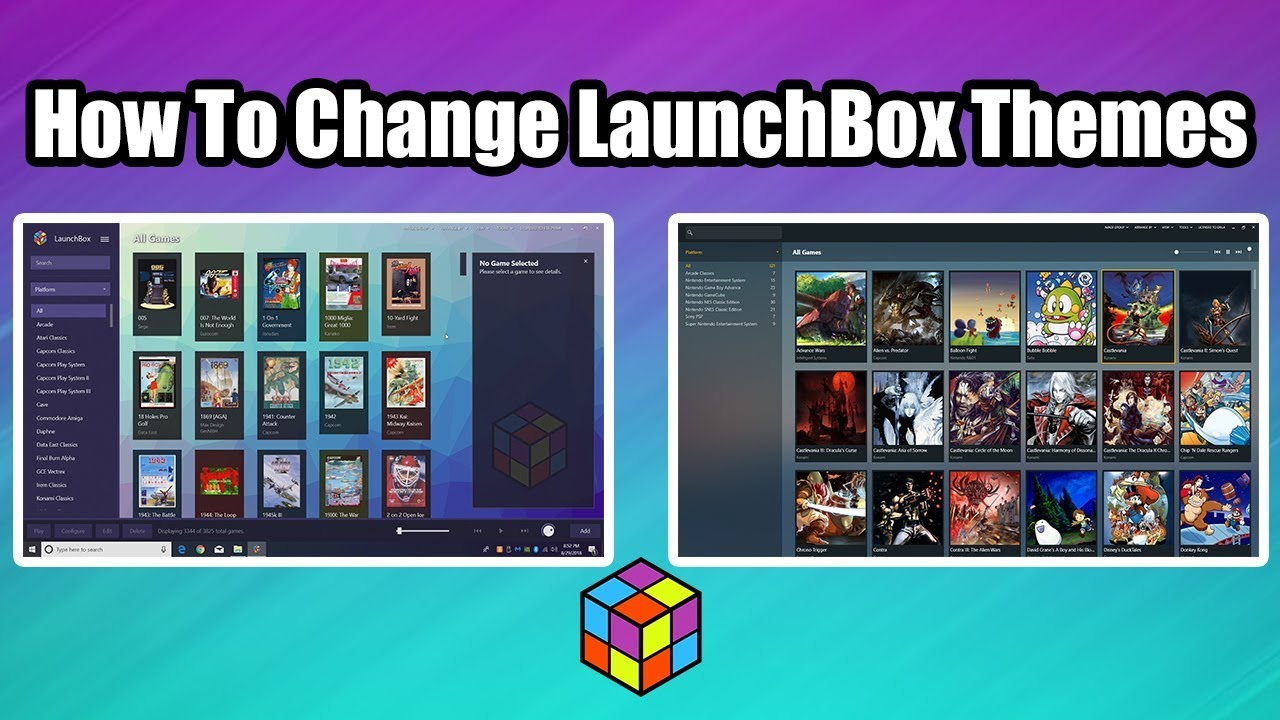 Download launchbox themes | Download LaunchBox 9 7 / 9 8