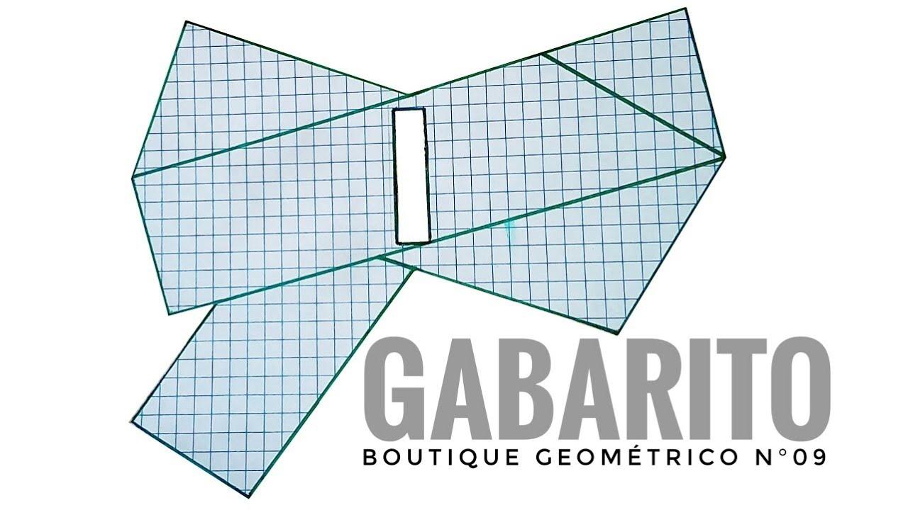 Gabarito Do Boutique Geometrico Mil Lacos Baby Youtube
