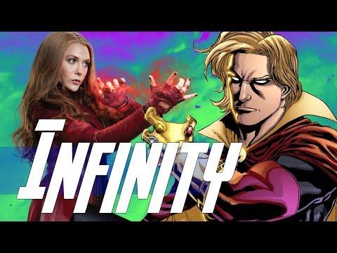 Adam Warlock & Vision in Avengers Infinity War & Guardians of the Galaxy Vol. 3