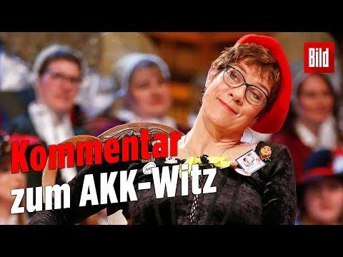AKK-Witz über Intersexuellen-Toiletten – Der Kommentar