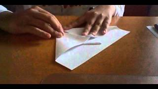 How To Make An Origami Jet Plane