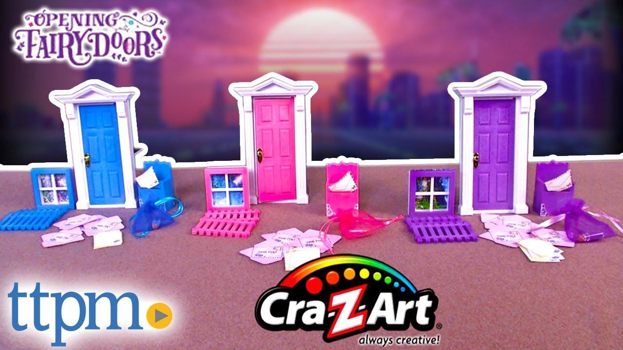 Opening Fairy Doors From Cra Z Art Youtube