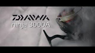 Recenzja kołowrotka Daiwa Ninja 3000A || KrzywaWędka