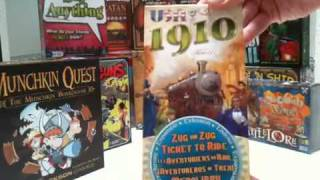 UnBoxing: Ticket to Ride: USA 1910 Expansion