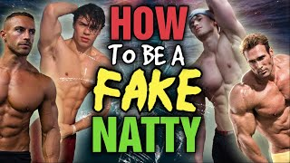 HOW TO BE A FAKE NATTY || Step by Step ADVICE and Top TIPS To Hide Your PED Use!!!
