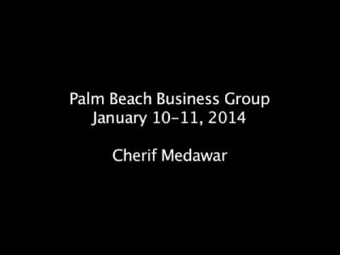 Cherif Medawar - Palm Beach Business Group_01.10-11.14