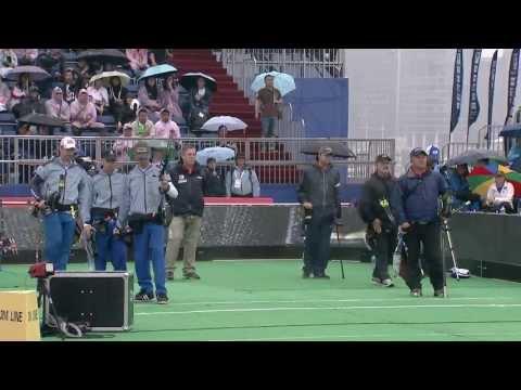 Compound Men Team Gold - Shanghai - Archery World Cup 2013