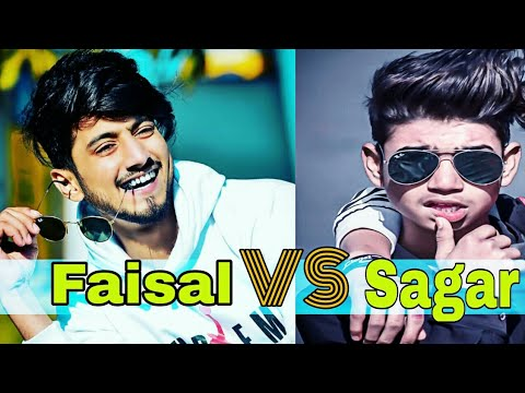 Mr Faisu VS Sagar goswami || who is the best?| Musically funny videos compilation| team07 hasnain #1
