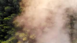 Aerial | Mt. Tam Sunrise 4K