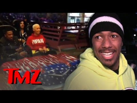 Nick Cannon and Amber Rose Are JUST FRIENDS!