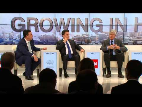 Davos 2015 - Growing in Harder Times