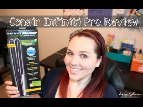 Conair Infiniti Pro Flat Iron Review