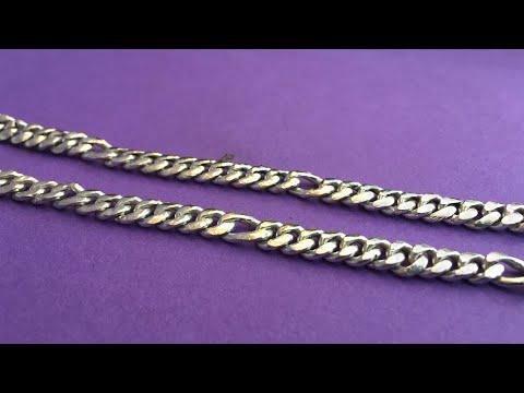 Handmade Silver Chain | Sachin Chain | How To Make Silver Sachin Chain | 4K Video