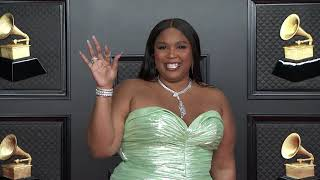 Lizzo on the Red Carpet I 2021 Annual GRAMMY Awards