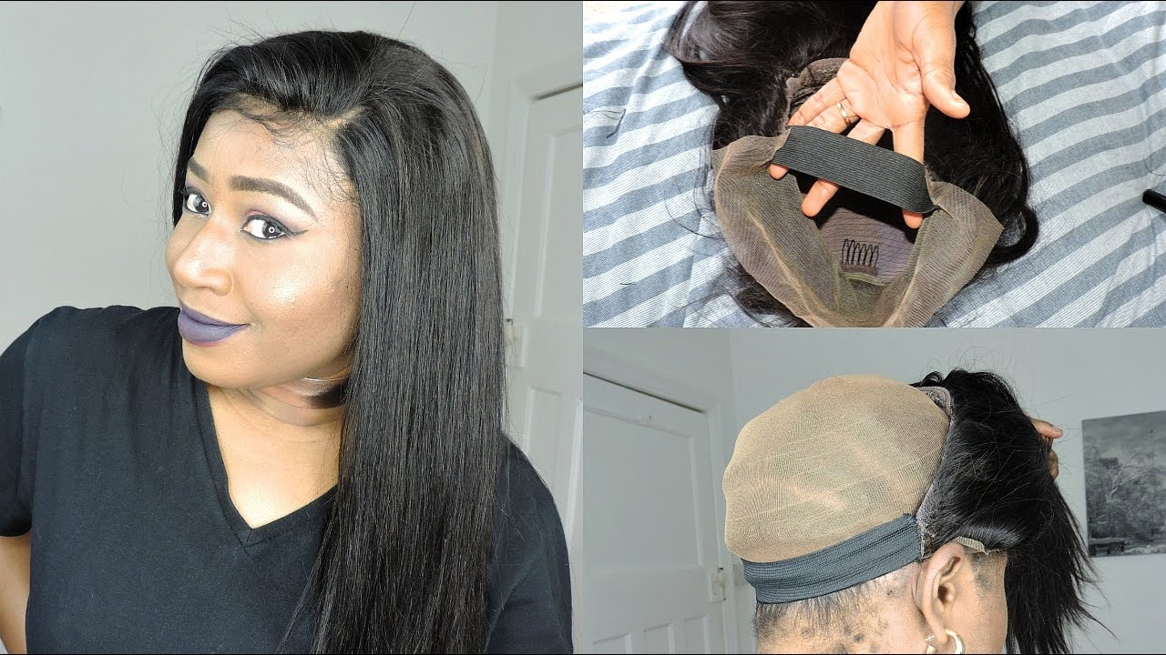 How To Sew Elastic Band To Your Wig Youmay Hair On Aliexpress Youtube