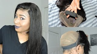 HOW TO SEW ELASTIC BAND TO YOUR WIG || YOUMAY HAIR ON ALIEXPRESS.