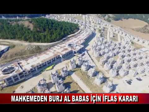 Burj Al Babas projesini hayata geçiren şirket için iflas kararı