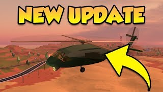 BUYING NEW ARMY HELICOPTER FOR 1 MILLION CASH! (ROBLOX JAILBREAK UPDATE)