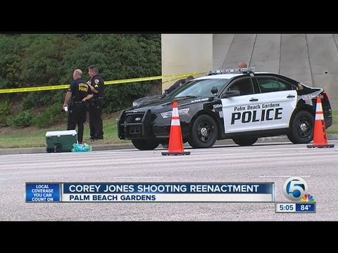 Corey Jones shooting reenactment