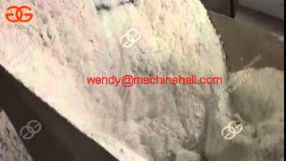 Automatic Starch Production Plant/  Starch Vacuum Filter Dehydrator Price Made in China work video