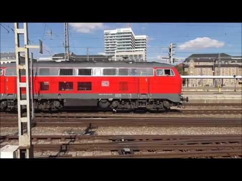 Ein Nachmittag München Hbf mit U Bahn 2016